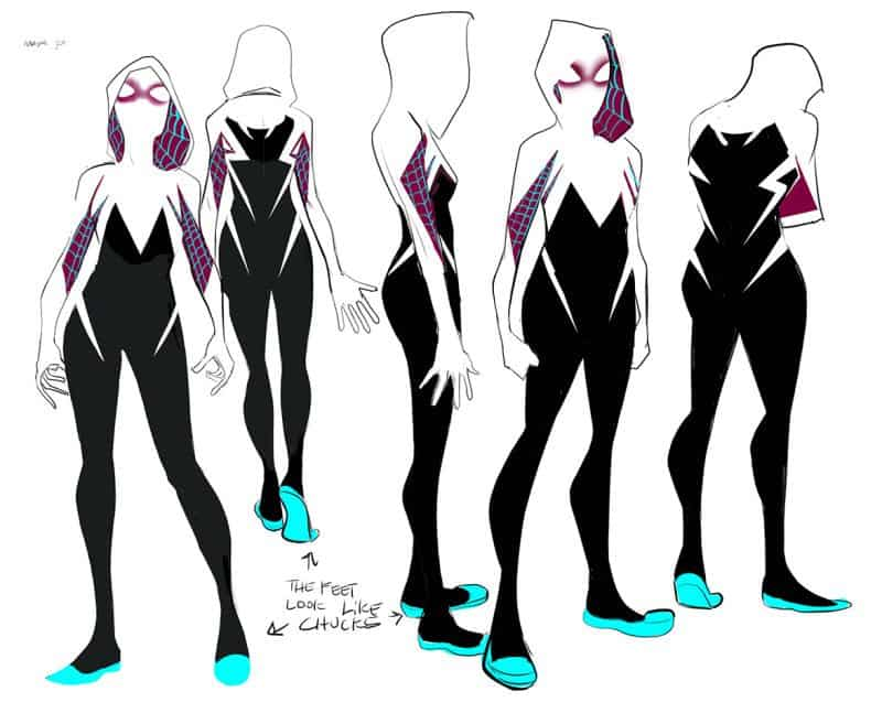 The design of Spider-Gwen demonstrates how well super-heroine concepts can work