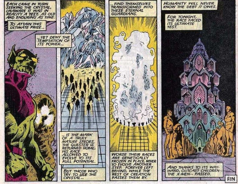The Kree and the Crystal of Ultimate Vision