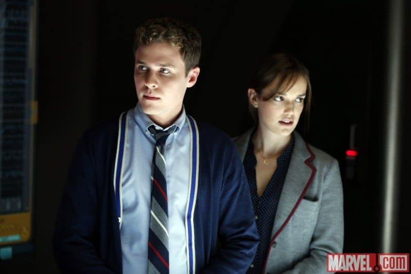 Fitz and Simmons in Agents of S.H.I.E.L.D.