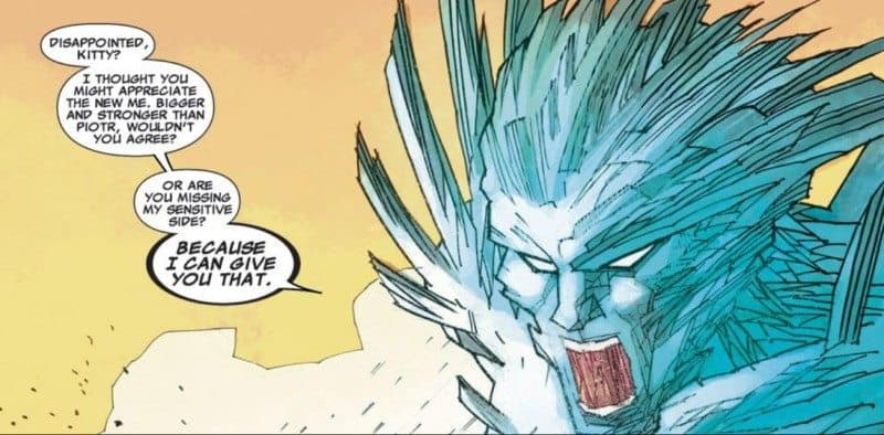Iceman disappoints Kitty
