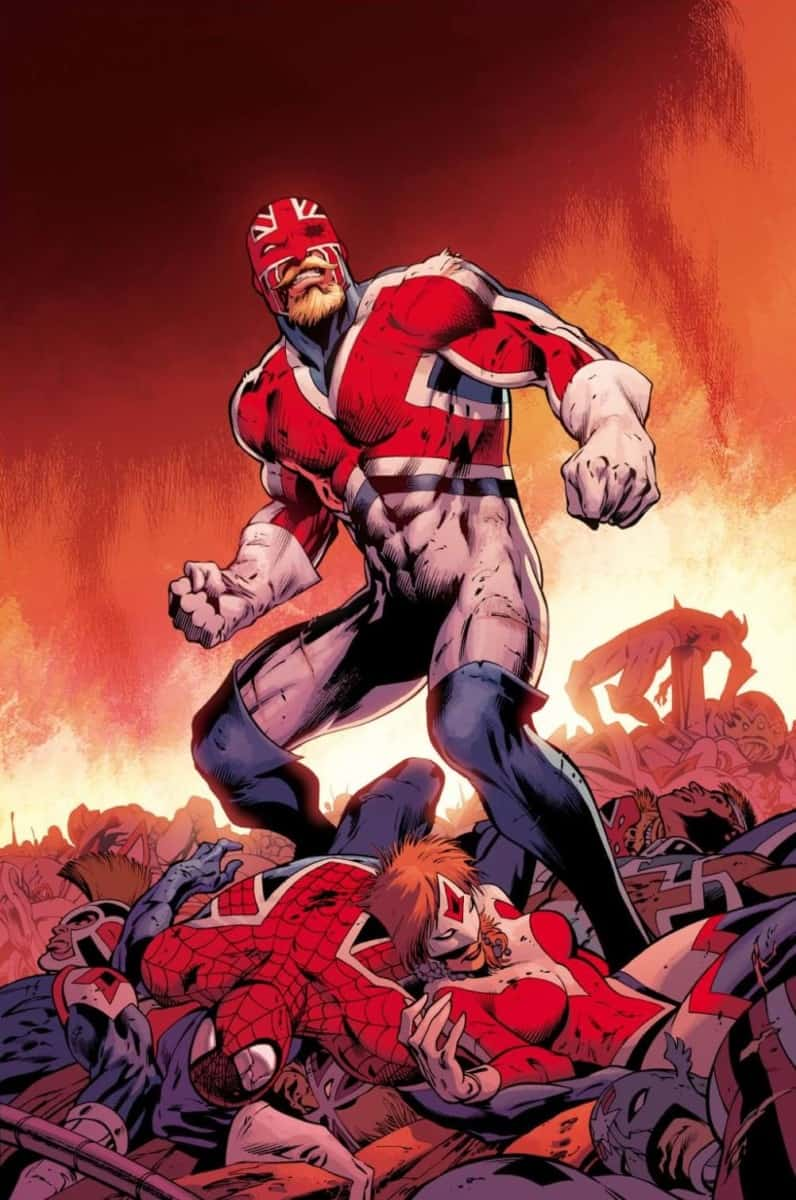 Captain Britain in A-Force