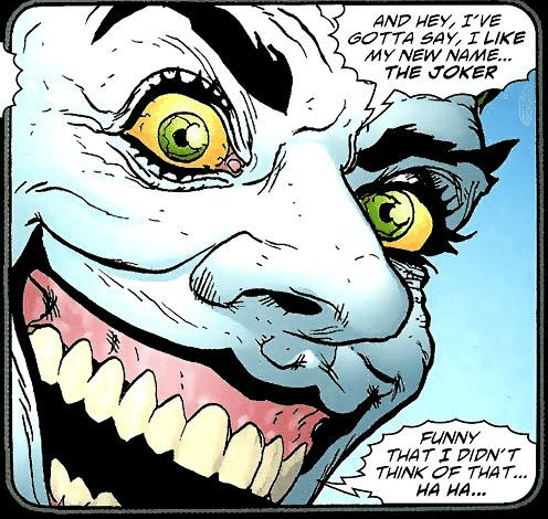 Joker the Man Who Laughs