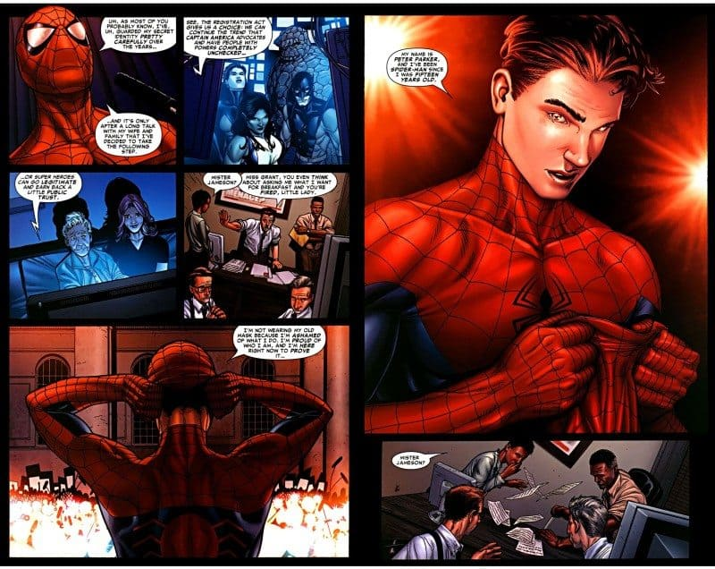 Spider-Man Unmasks