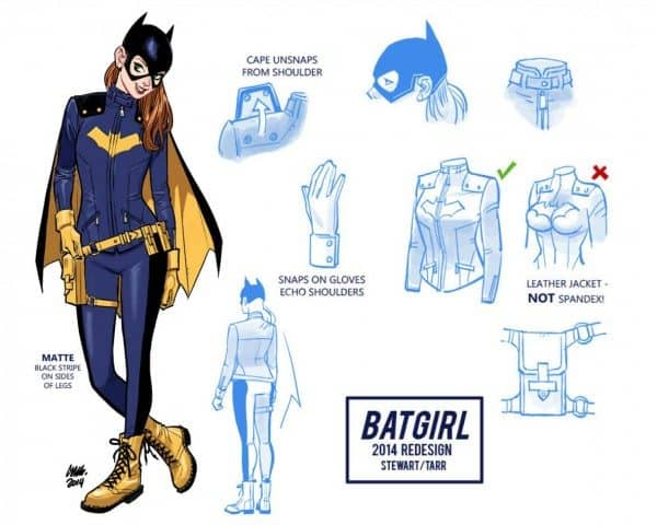 Batgirl of Burnside costume