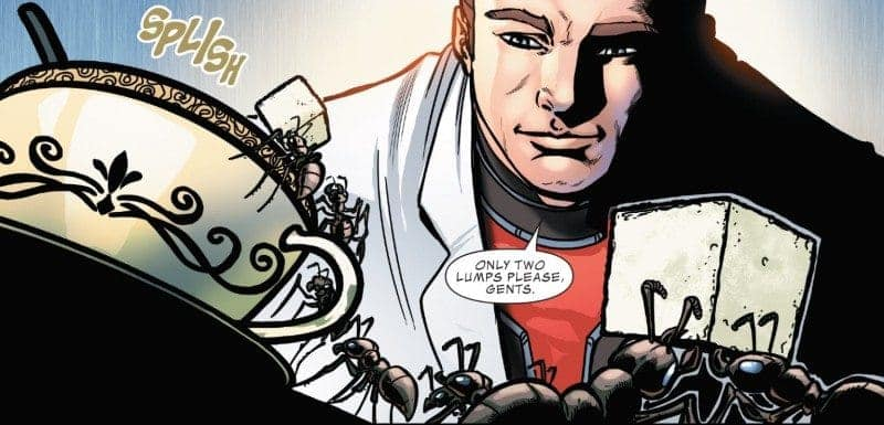 ANT-MAN: LARGER THAN LIFE #1 panel