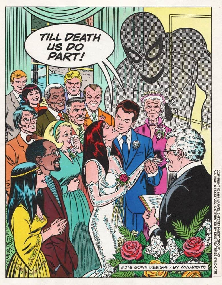 Wedding of Peter and MJ