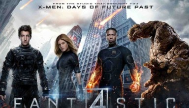 Promotional Image of Fox's FANTASTIC FOUR 2015 comic book film