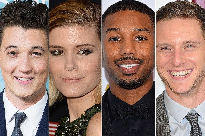 Cast of Fox's 2015 comic book adaptation film FANTASTIC FOUR