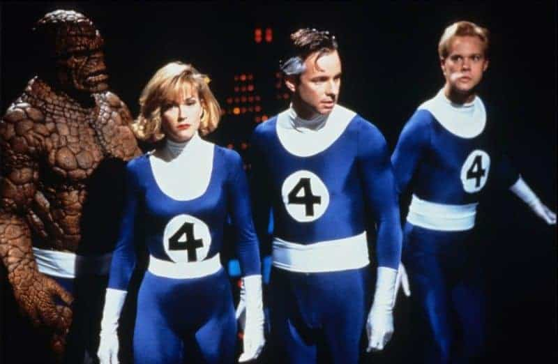 The 1994 FANTASTIC FOUR prior to the Disney-Fox merger.