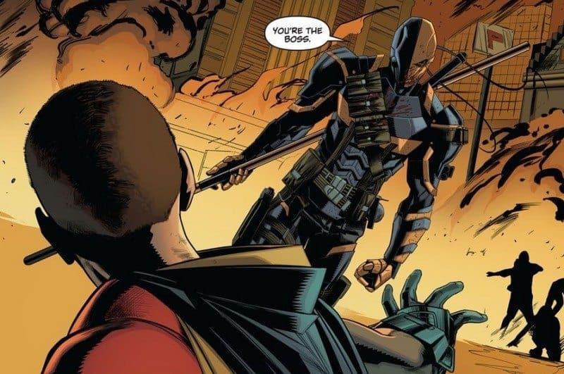 Deathstroke versus Robin
