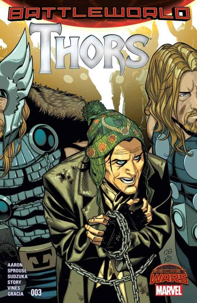 Thors 3 cover from Marvel Comics