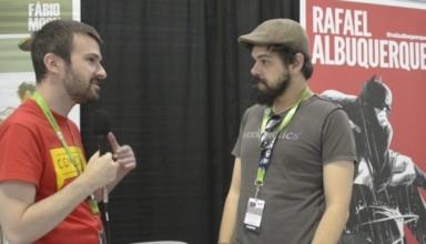 Chris Galvin of ComicsVerse interviews Rafael Albuquerque at New York City Comic Con 2015