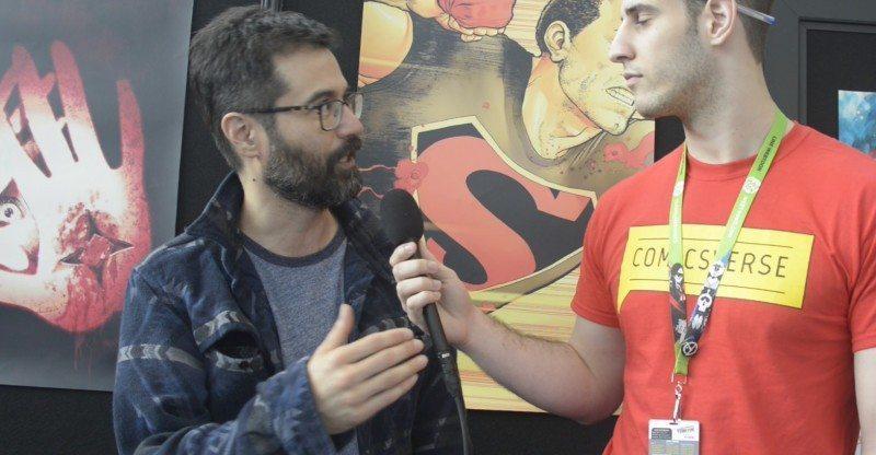 Chris Massari interviews Greg Pak at NYCC 2015