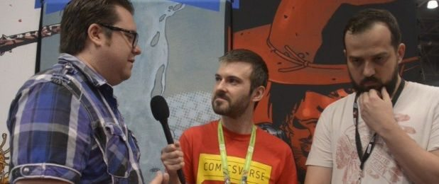 Joshua Williamson and Andrei Bressan interview at NYCC - ComicsVerse