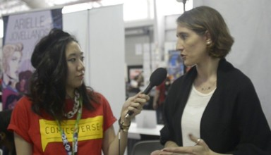Erica Schultz interview at NYCC 2015