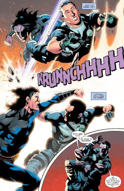 Titans-Hunt- grayson/garth fight
