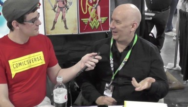 Kevin Maguire interviewed by ComicsVerse at New York Comic Con 2015