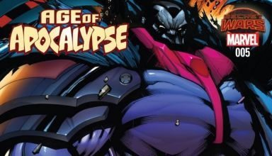 Age of Apocalypse #5 cover
