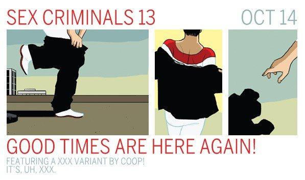 SEX CRIMINALS 13 XXX Variant