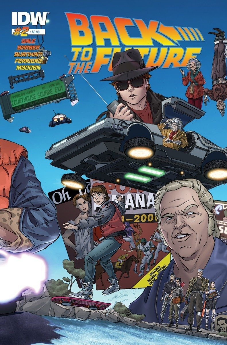 back to the future 2 cover