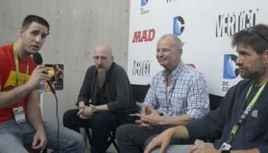 Dark Knight III: The Master Race creator interview at New York Comic Con NYCC