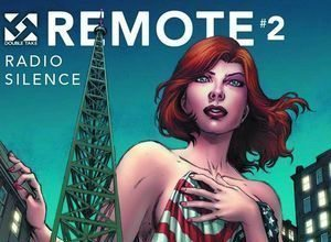 Cover of REMOTE #2 from Double Take Comics