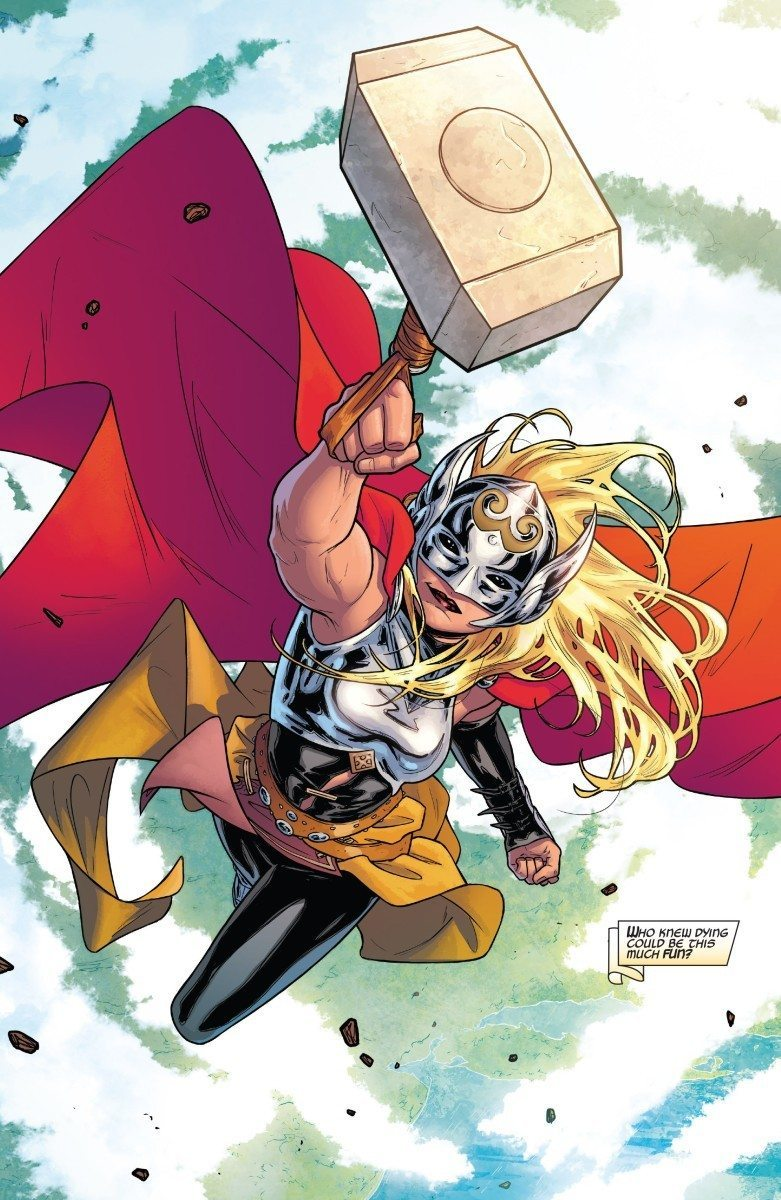 the mighty thor from marvel comics
