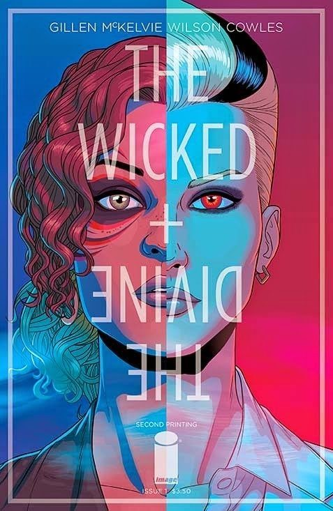THE WICKED & THE DIVINE Second Printing Issue 1 Cover
