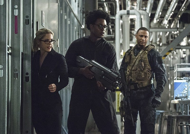 "arrow rescue arrow s4e6 ""lost souls"" review dc comics dc tv"