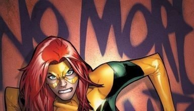 cover of Extraordinary X-Men #1 with Jean Grey on the cover