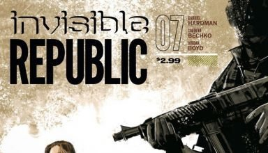 cover of INVISIBLE REPUBLIC #7