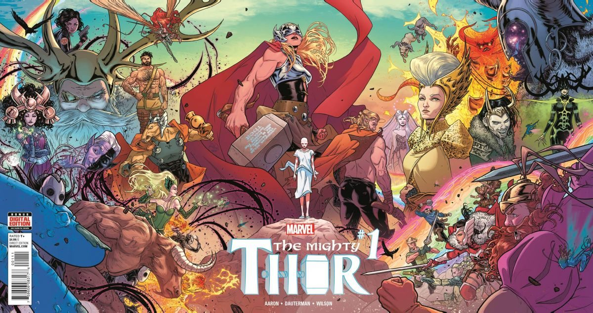 Mighty Thor issue #1 2015 by Marvel Comics