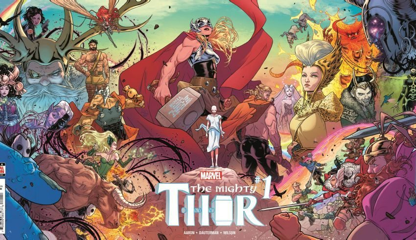 Mighty Thor issue #1 2015