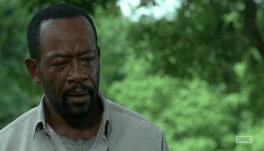 Morgan surprised in Walking Dead Episode 4 from Season 6