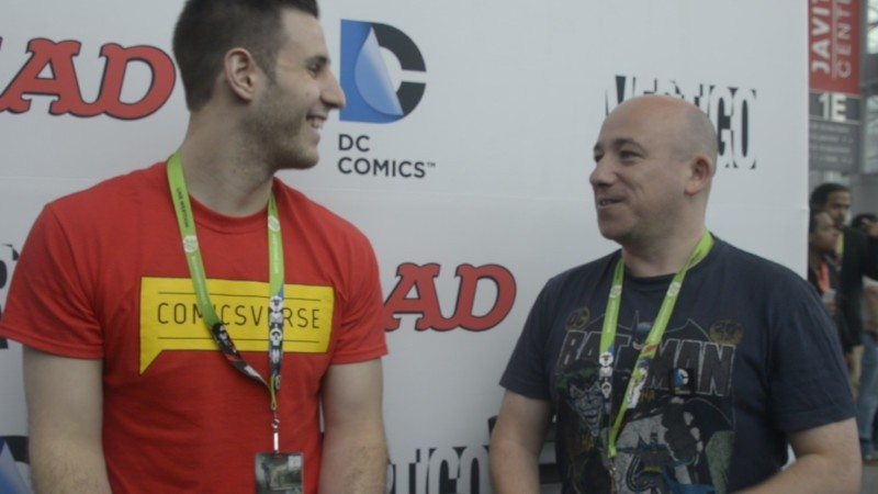 David Baillie interview by ComicsVerse at New York Comic Con 2015