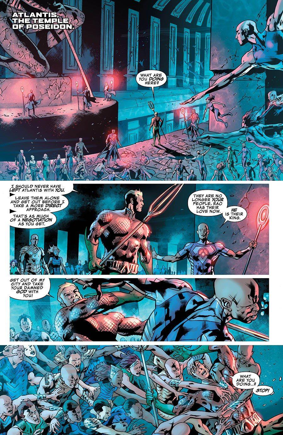 Justice League of America 6 Aquaman
