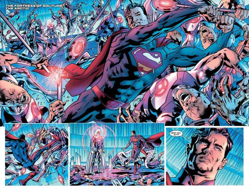 Justice League of America 6 Superman