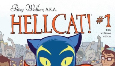 Patsy Walker AKA Hellcat #1 (2016) - cover