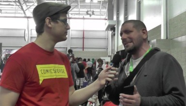 Joshua Dahl interviewed by ComicsVerse at New York Comic Con 2015