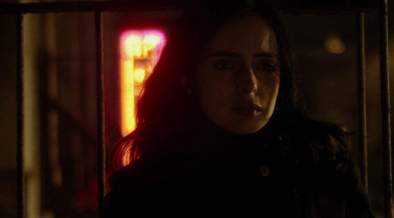 jessica jones beautiful lighting