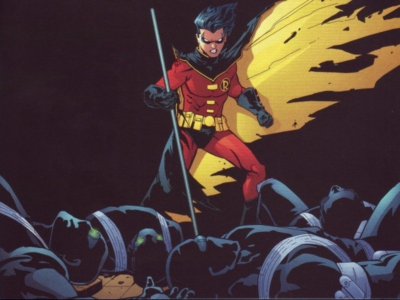 Tim Drake, early Robin