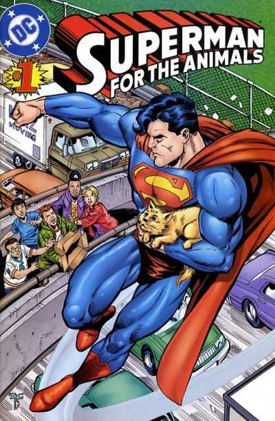 superman for the animals one shot by dc comics