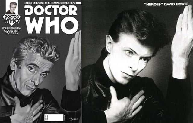 David Bowie Comics: Doctor Who and Bowie