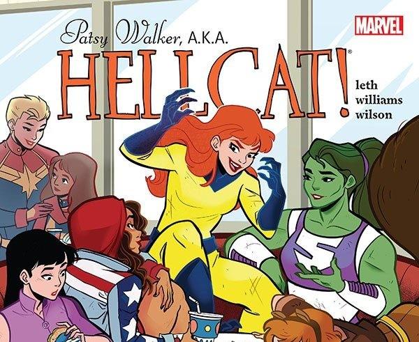 hellcat, patsy walker, marvel