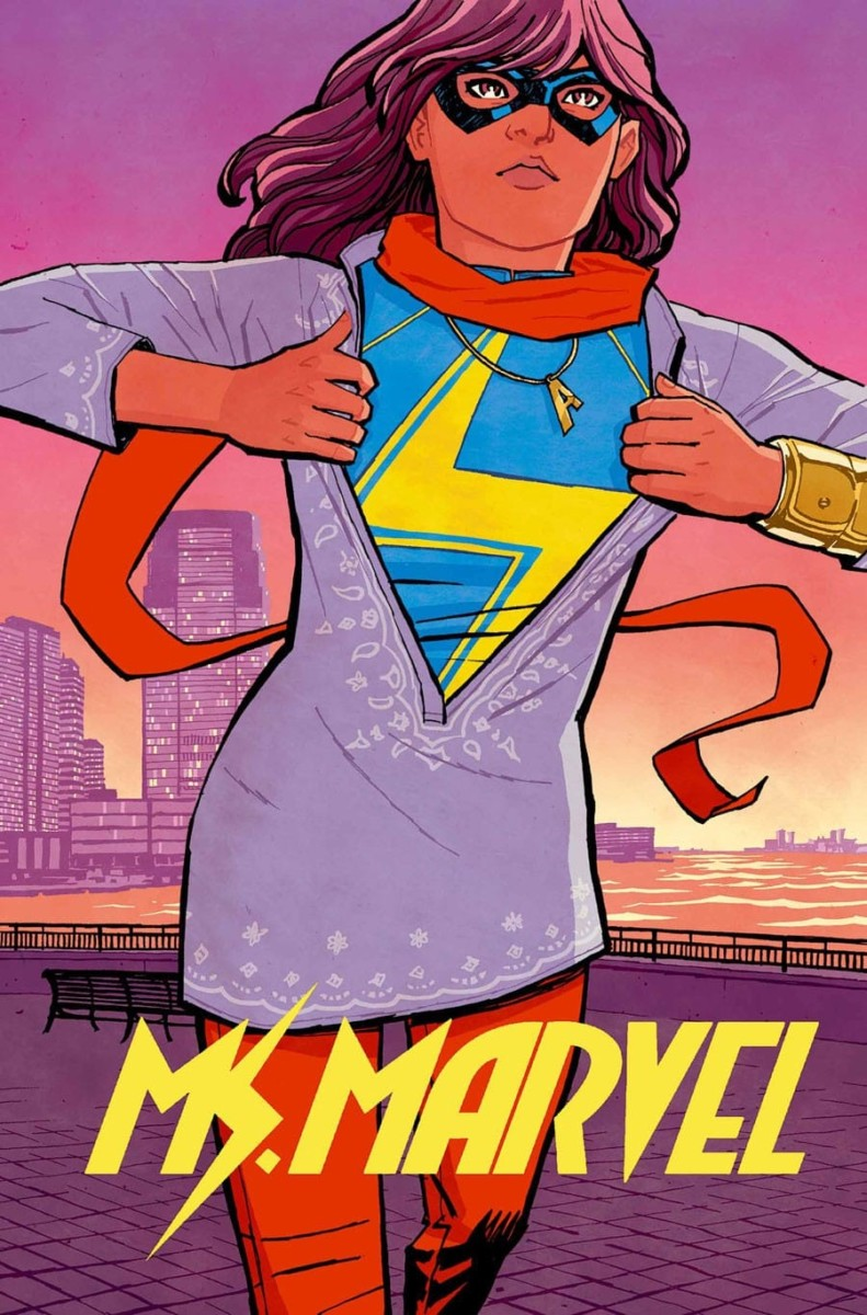 Cover of Ms.Marvel #1 from Marvel Comics