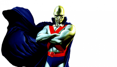 DC Comics Martian Manhunter