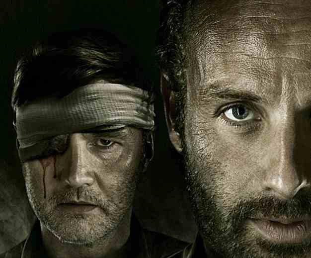 the walking dead rick and governor