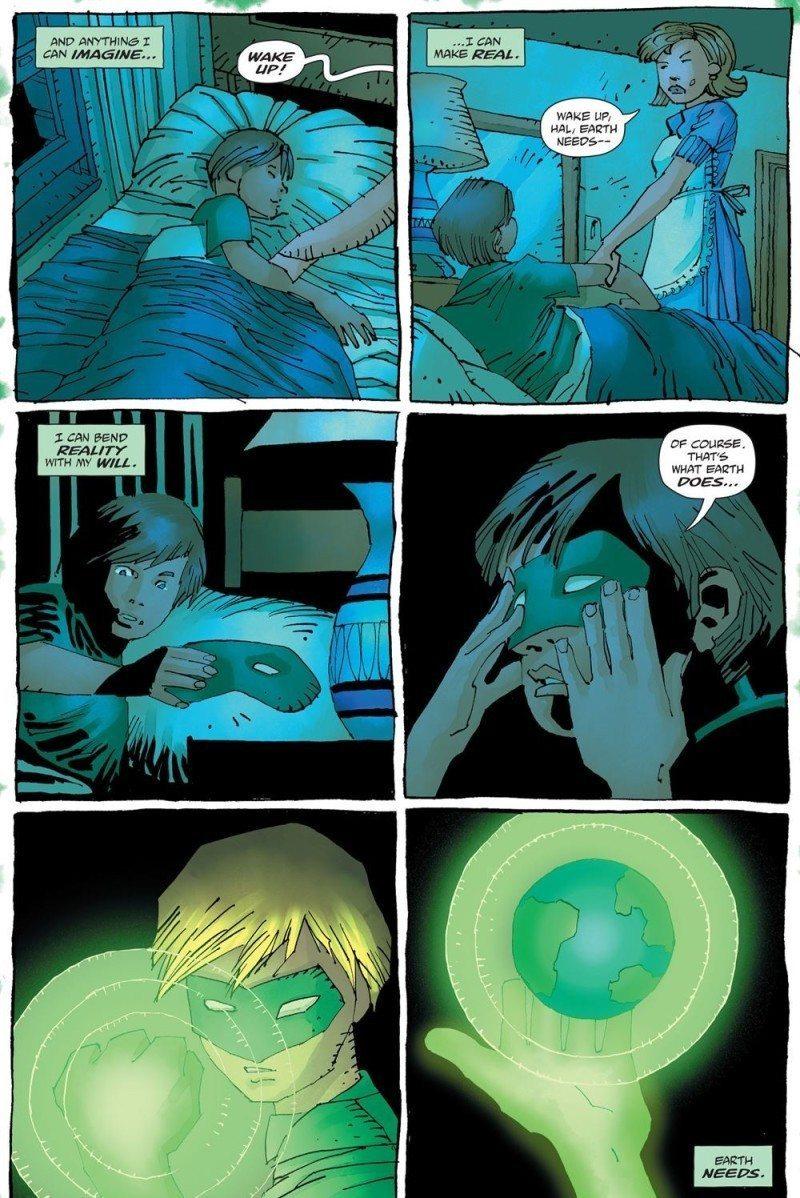 FM and JMR draw kid Green Lantern