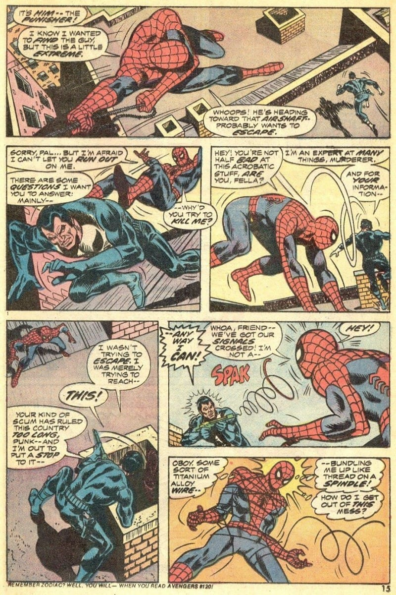 The Punisher Amazing Spider-Man #129 - Page 10