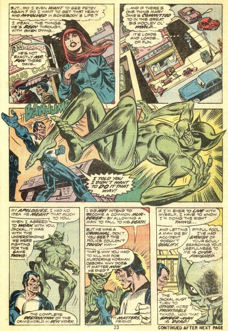 The Punisher Amazing Spider-Man #129 - Page 16